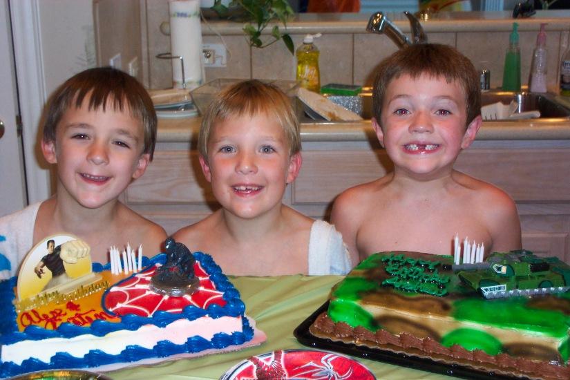 Andrew's 7th birthday 002